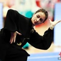 102の国と地域から参加した「武術の達人」たちが上海に集結し、技を競った。