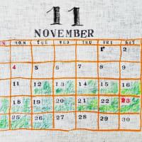 ◆◆11月に2週間休みます◆◆