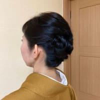 令和2年9月20日は出張着付1件目は堺市東区、お宮参りの着付&ヘアセットのご依頼でした