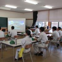 益田翔陽高校1年生が体験実習に来てくれました。