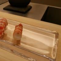 先日は・・・・・鮨「かわしま」にて会食。