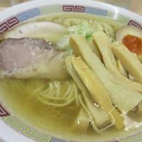 煮干鰮らーめん「圓(えん)」にちょいちょい~~最近は塩!