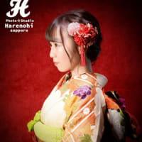 1/8 いよいよ2021年・成人式撮影 札幌写真館フォトスタジオハレノヒ