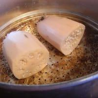 蓮根のもち米蒸し