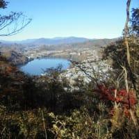 相模湖の嵐山