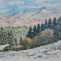想い出めくり№5「船路雪景色」