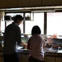 夫の実家で夕食