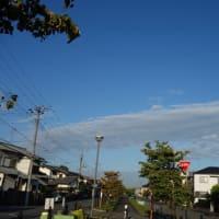 気持ちの良い晴天