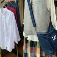 定番シャツ、ベスト、ワンポイント刺繍が可愛いワンピース