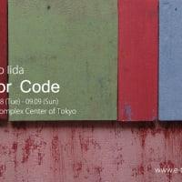 飯田哲夫個展  Color Code