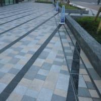 朝ウォーキングの風景。令和元年7月16日。「いろはす」が無かった。