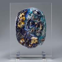 ヴェネチアン グラス彫刻展開催中|じねんじょ 蕎麦 箱根 九十九