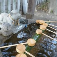 初詣は、羊神社。