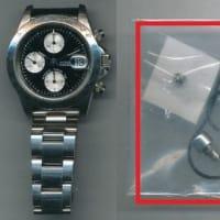 チュードル(TUDOR)クロノタイム(Rif.79280)のオーバーホール・プッシュボタン交換・香箱芯交換・パッキン交換・全体仕上げ(ケース・ブレス磨き)を承らせて頂きました