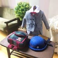 幼稚園のリュックとお帽子