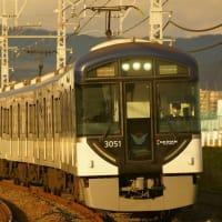 2019年2月12日 京阪本線 淀  3051F