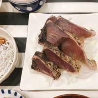 カツオのたたきで夜ごはんと、肉じゃがのお肉は?