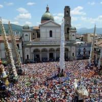 イタリアの無形文化遺産12件についてまたまた調べました-その2(肩で担われる巨大な構造物の祭礼・ヴィーテ・アド・アルベレッロ・鷹狩・ナポリピッツァの職人技)2020年9月現在