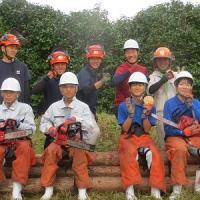 松江農林高校生物生産科1年生の体験実習