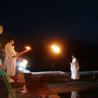 5日は鳥居焼祭りが斎行されました。