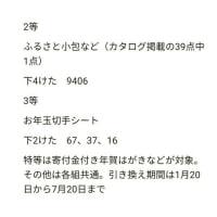1/20~今週のシフト予定