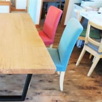 『 野瀬銘木店×外房の家 』。尊敬する野瀬銘木店さんとのコラボテーブルがついに届きました~~~!!