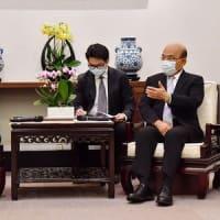 訪台の米高官、政権幹部と会談 協力関係強化を確認