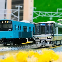 201系スカイブルー更新車大阪環状線仕様入線