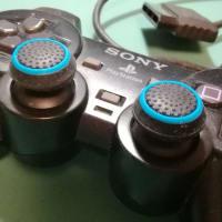 PS2アナログスティックにキャップをはめてみた