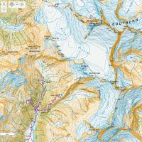 ニュージーランド  地形図サイトの巻