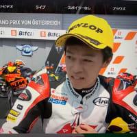 moto2表彰台