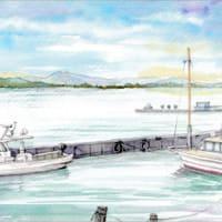 ◆霞ケ浦・筑波山・船◆