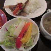 「銀杏坂」、青葉区錦町の喫茶店で日替りの、プロヴァンス風トマト煮込みランチ