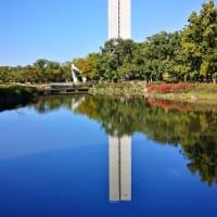 堺市大仙公園 平和塔