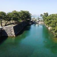 39.最後の見学先、高松城城跡へ