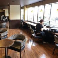 かっぱ横町のカフェが再開していた