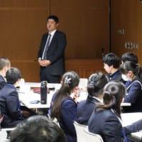 ゆずるが「いじめ防止に係る箕面市中学校生徒会学習会」に参加しました。