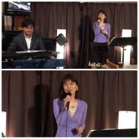 2月21日(金)の夜は、沙織(vo)さんのライブでした!