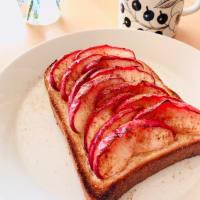 紅玉トースト。