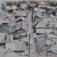 宇津ノ谷の屋根