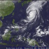 [気温26℃][雨] 日本の台風の影響で今日は雨です