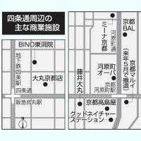 商業施設、激しさ増す集客競争 「個性」勝負や増床…一方で撤退も・京都中心地
