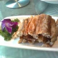 西安名物料理お勧め⑦秋刀魚の揚げ物
