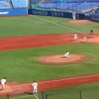 秋季東京六大学野球 第4週 法政vs明治 1回戦