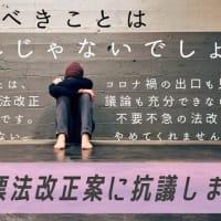 憲法改正、安倍晋三の「桜」を隠れ蓑に進めようとしている!