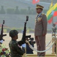 ミャンマーのデモ隊は時代の流れを理解している?