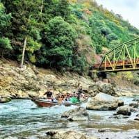 歴史の都・京都の非日常空間・保津峡を楽しむ。