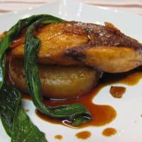 ブリと大根のカラメル生姜煮