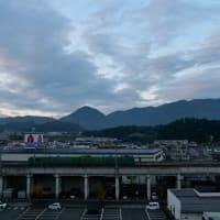 朝の風景「福知山」