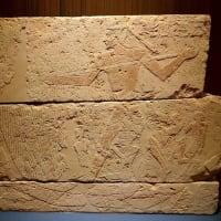 ミュージアム巡り ANCIENT EGYPT 漁をする死者のレリーフ
